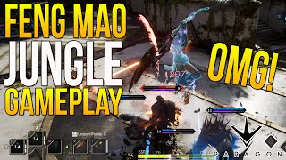 "Paragon Gameplay - ""Feng Mao Ninja Ballerina?"" Paragon Feng Mao Gameplay (JUNGLE GAMEPLAY)"