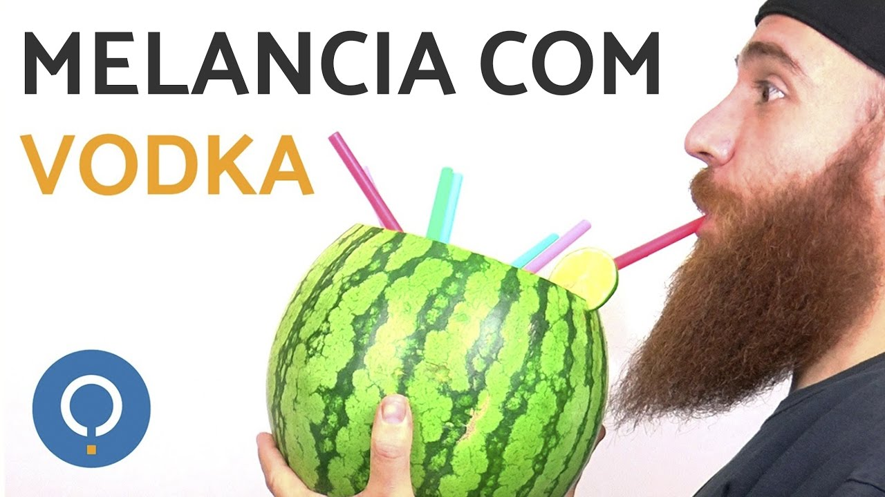 Fabuloso Melancia com vodka - Ideal para festas!! - YouTube KX44