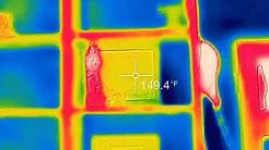 Bed bug heat treatment at house in Phoenix, AZ