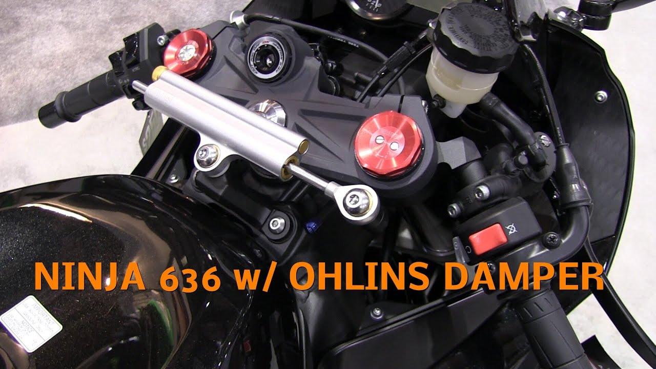 2013 Kawasaki Ninja 636 Zx6r With Ohlins Steering Damper