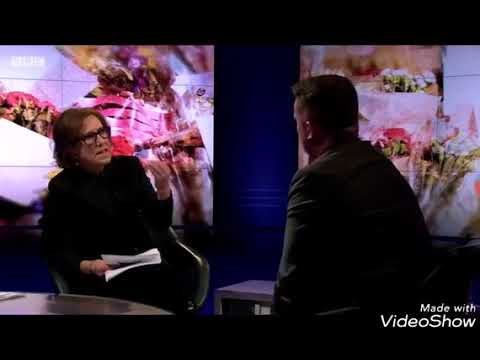 TOMMY ROBINSON owns BBC's Kirsty Wark