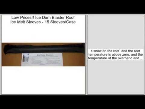 Ice Dam Blaster Roof Ice Melt Sleeves   15 Sleeves/Case Review