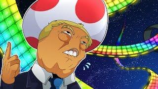 Donald Trumps Toad in Mario Kart 🍄 (Mario Kart 8 Deluxe)