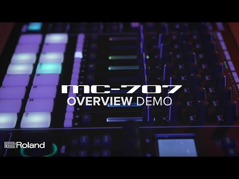 Roland brings back Groovebox with MC-707 and MC-101
