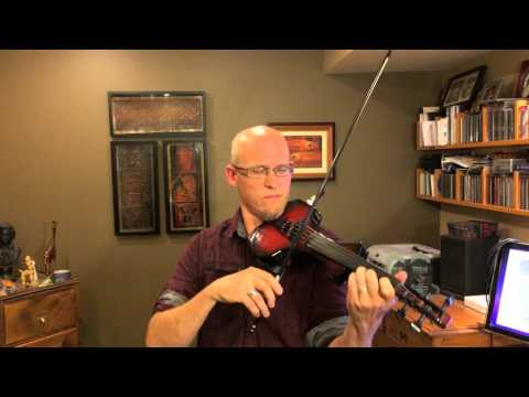 Trevor Dick - Amazing Grace - Cantini MIDI Violin & Roland GR-55 Guitar Synth