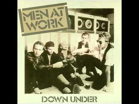 Down Under - Men At Work lyrics