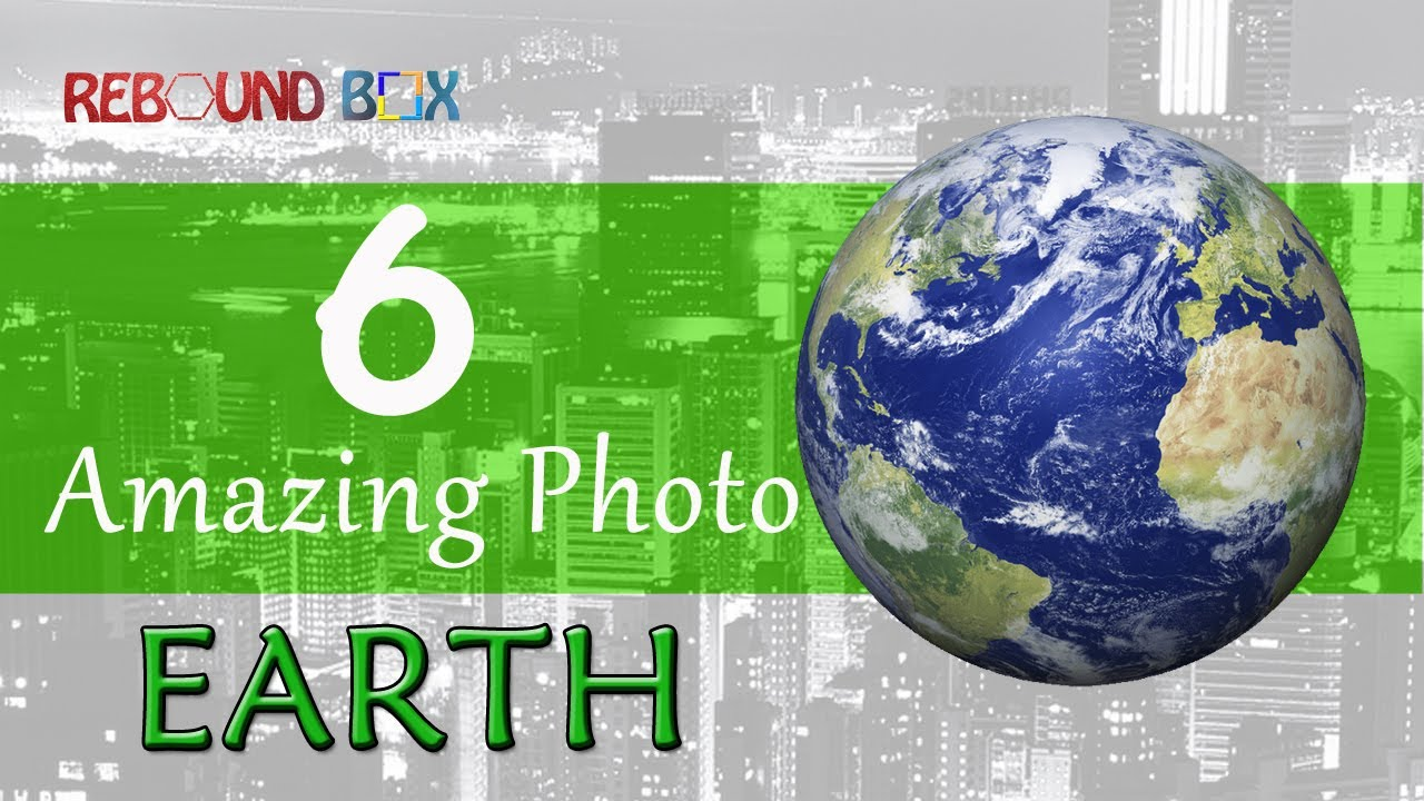 6 Unseen Real Photos of Our Earth | Mind Boggling Photos From Space