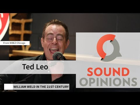 """Ted Leo performs """"William Weld in the 21st Century"""" (Live on Sound Opinions)"""