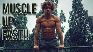 THE ULTIMATE MUSCLE UP TUTORIAL - LEARN YOUR FIRST MUSCLE UP