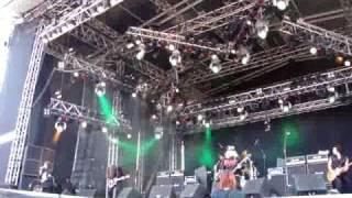 Riot - Swords and Tequila - Sweden Rock Festival 2009 - Thundersteel line up