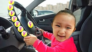 We are in the car / Wheels on the bus | Kids song & Nursery rhymes
