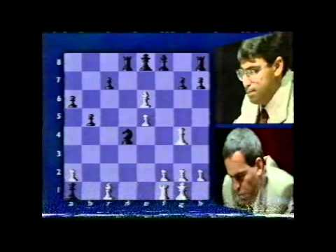 BBC Coverage of World Chess 1995 Kasparov v Anand