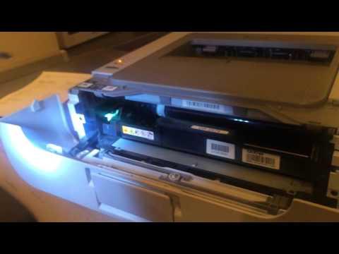 Как сбросить счетчик на принтере brother hl 2132r