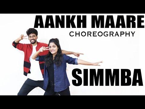 SIMMBA Aankh Marey Dance Cover | Ranveer Singh | Sara Ali Khan | Mika | Neha Kakkar | Kumar Sanu