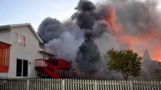 Parker Hill Structure Fire