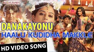 "Watch 'haalu kudidha makle' hd video song from the movie ""danakayonu"" starring duniya vijay and priyamani. directed by yogaraj bhat, music composed v hari..."