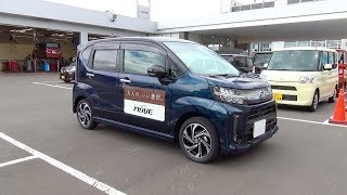 2017/2018 New DAIHATSU MOVE CUSTOM Turbo 4WD - Exterior & Interior