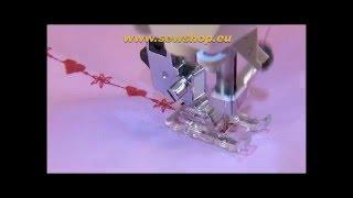 Macchina da cucire Sewing Machine Juki HZL-DX7 Video Istruzioni 2°