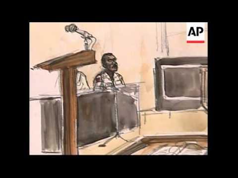 Court sketches, reax to Abu Ghraib abuse sentence