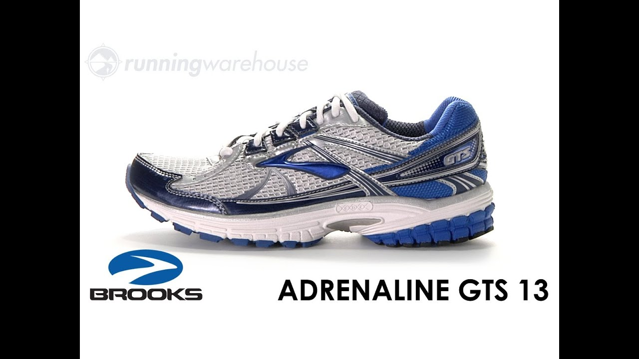 1ee094c7edbd0 Brooks Adrenaline GTS 13 for Men - YouTube