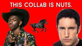 Lil Nas X - Old Town Road is PARTLY Trent Reznor?  Is this Legal?