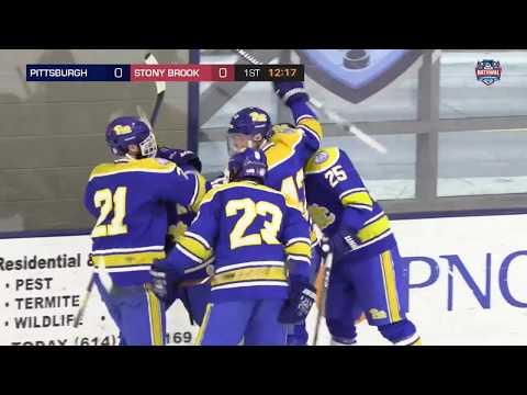 2018 ACHA Men's D1 National Championships (Game 3): #18 PITTSBURGH vs #15 STONY BROOK