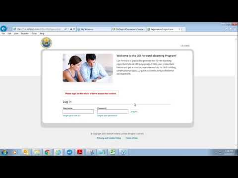 CDI eLearning Program User Orientation