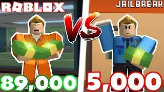 HOW TO MAKE THE MOST MONEY IN JAILBREAK! *Cop VS Criminal*
