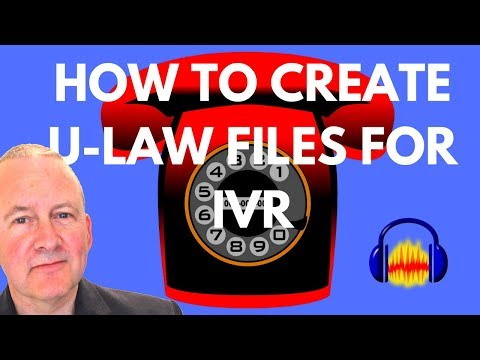 How to Export U-Law Files for IVR