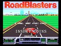 RoadBlasters - Arcade Gameplay - Atari 1987