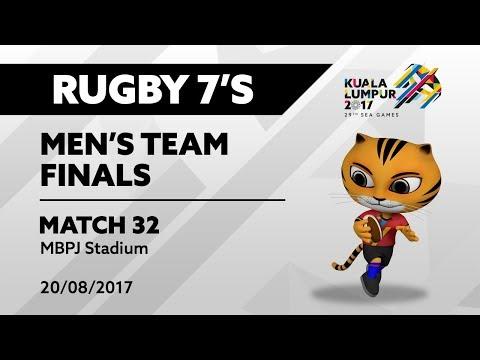 KL2017 Men's Rugby 7's FINALS - MAS 🇲🇾 vs SGP 🇸🇬 | 20/08/2017
