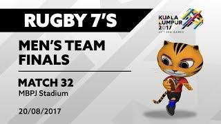 KL2017 29th SEA Games | Men's Rugby 7's FINALS - MAS 🇲🇾 vs SGP 🇸🇬 | 20/08