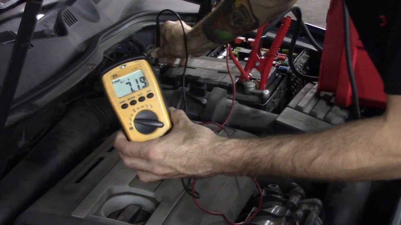 2006 Vw Passat Wiring Diagram 2009 Volkswagen Passat 2 0t Battery Light On Charging