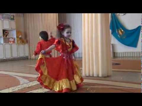 видео: Цыганский танец Дану данай г.Павлодар д/сад№115