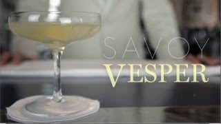 James Bond's Cocktail Of Choice: The Vesper Martini