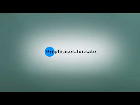 How to promote your eBay store using http://phrases.for.sale