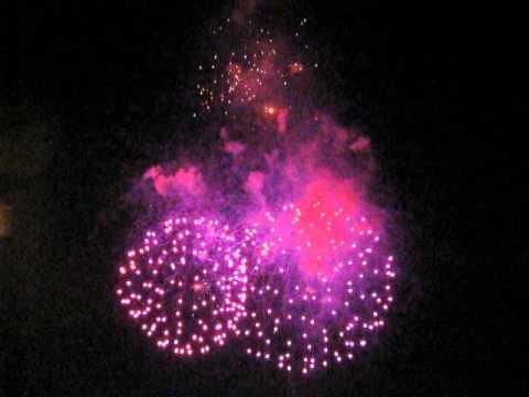 Fireworks at 2012 Musikfest - Bethlehem, PA