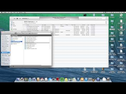 itunes archive tutorial 1