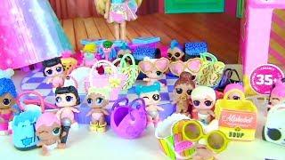 Ляльки Лол Сюрприз! Конкурс краси для найменших Lol Surprise Dolls Мультик для дітей