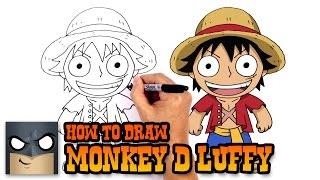 How to Draw Monkey D Luffy | One Piece