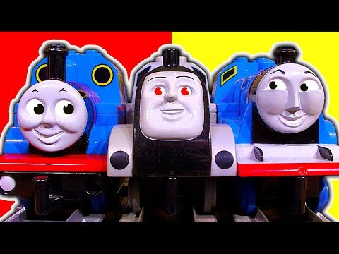Thomas Tank Powered DUPLO Percy Gordon James Salty Spencer Busy Day Crashing On Sodor
