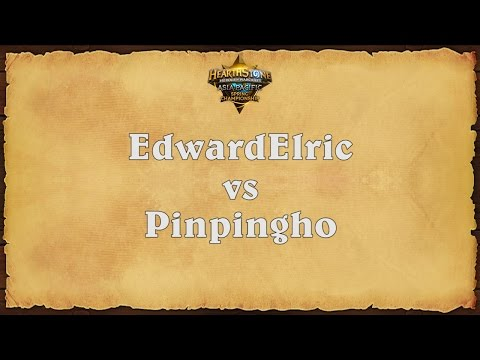 EdwardElric vs Pinpingho - Asia-Pacific Spring Championship - Quarterfinal #4
