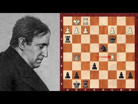 Part 1 of 5: Frank Marshall Top Sacrifices! : 1894-1900 -  U.S. Chess Champion from 1909 to 1936
