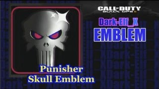 Black Ops 2 Emblem - Punisher Skull (Metallic)
