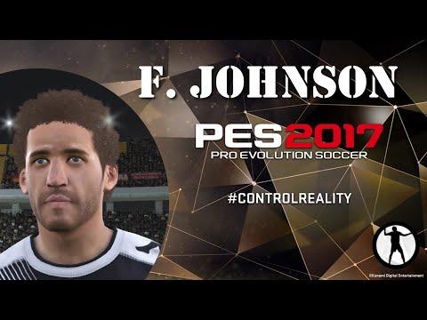 PES 2017 Face Build Fabian Johnson (Borussia Mönchengladbach)