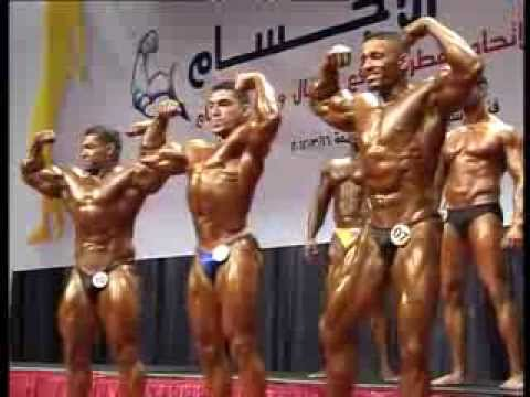 Nabil Athman in Under80kg and Under70kg Class open in IFBB QATAR POLICE SHOW
