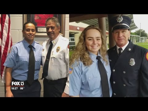 Bradenton women follow their firefighting fathers' footsteps