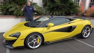 Вот почему McLaren 600LT стоит $300 000