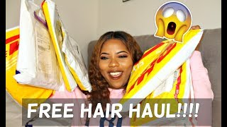 SOO MUCH FREE HAIR!!!| MEGA PR HAIR UNBOXING| Aliexpress, DHGate, Amazon