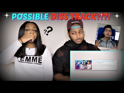 Thumbnail: A POSSIBLE DISS TRACK??? | Ricegum Official iDubbbz Content Cop Diss Track REACTION!!!